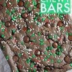 Double Chocolate Chewy Bars