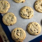 Small batch soft baked chocolate and peanut butter chip cookies! | Persnickety Plates