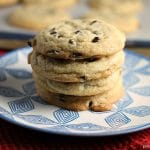 Soft Baked Peanut Butter & Chocolate Chip Cookies