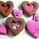Chocolate Frosted Valentine Cookies
