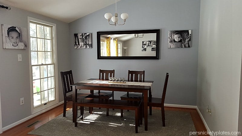Before And After Pictures Of Our Living Room/dining Room Done On A Budget. Part 62