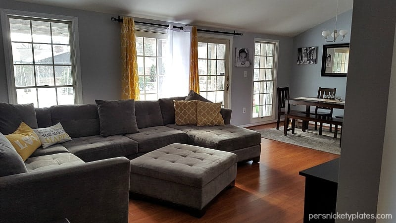 persnickety house: Living Room Before & After Photos