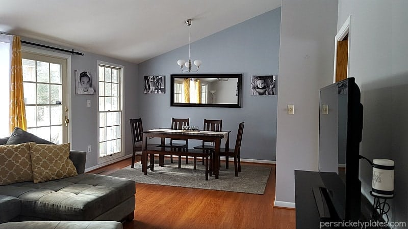 Meal time dining room vs living compare factory dining for Dining room vs living room