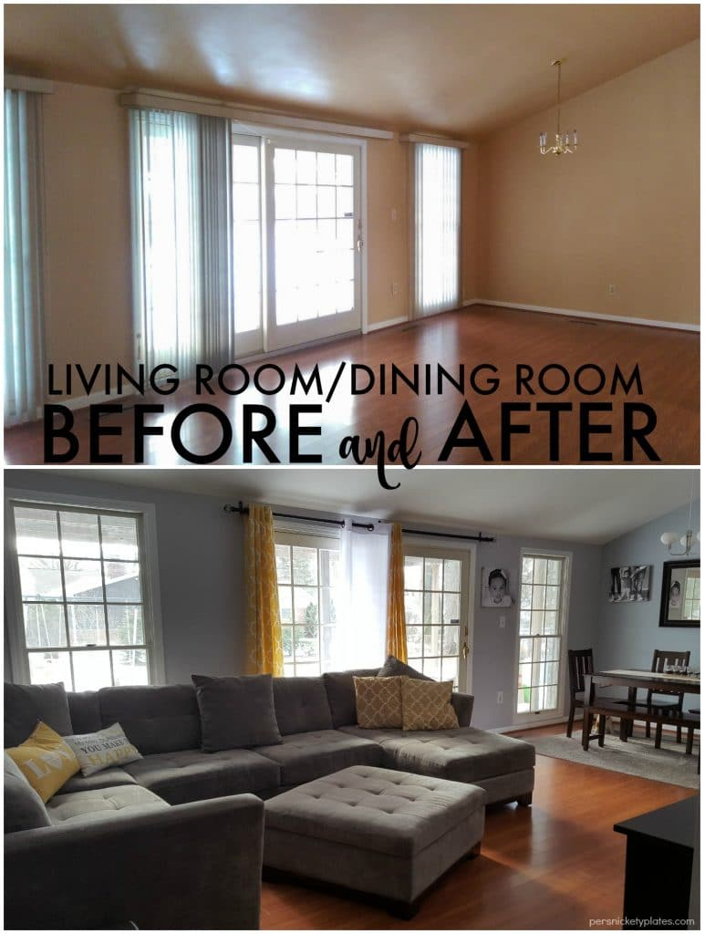 Persnickety House Living Room Before After Photos Persnickety Plates