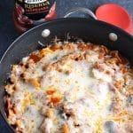 Chicken Spinach & Artichoke Pasta Skillet