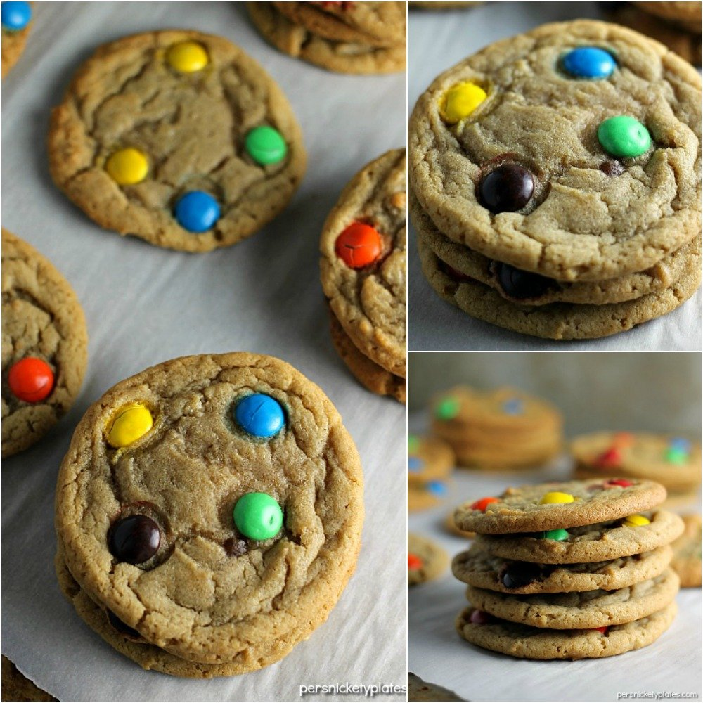 This Brown Sugar M&M Cookie recipe is a fun twist on the traditional sugar cookie that will definitely satisfy your sweet tooth. Crisp on the edges, chewy in the middle - just like a cookie should be!