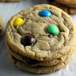 Brown Sugar M&M Cookies