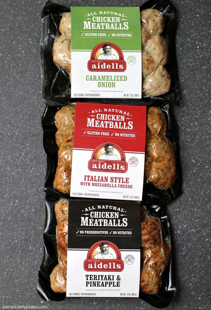 Italian Chicken Meatball Subs  Persnickety Plates-7662