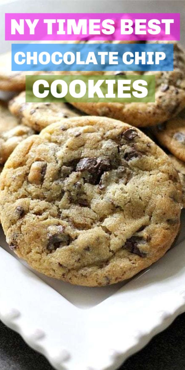 NY Times Chocolate Chip Cookies - practice your patience with these cookies since the dough needs to chill for at least 24 hours but they're worth the wait! | Persnickety Plates