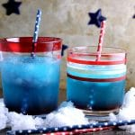 Patriotic Vodka Cocktail