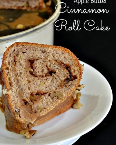 Apple Butter Cinnamon Roll Cake Lady Behind The Curtain 8
