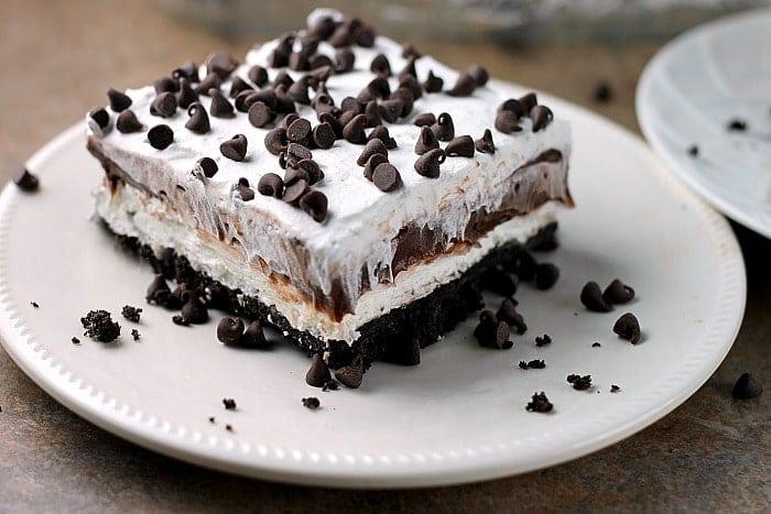 Chocolate Lasagna With Brownie Bottom