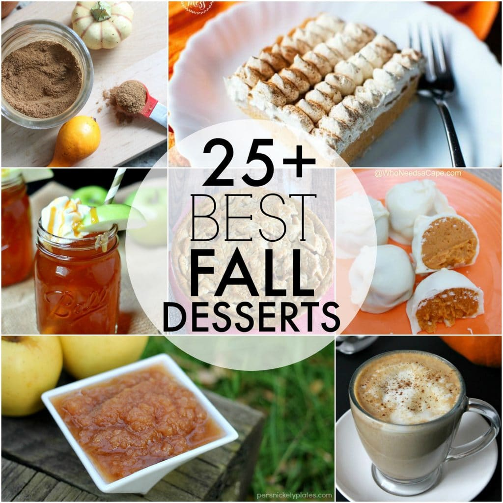 The BEST Fall Desserts