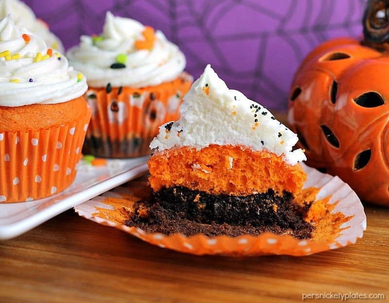 halloween cupcakes from scratch