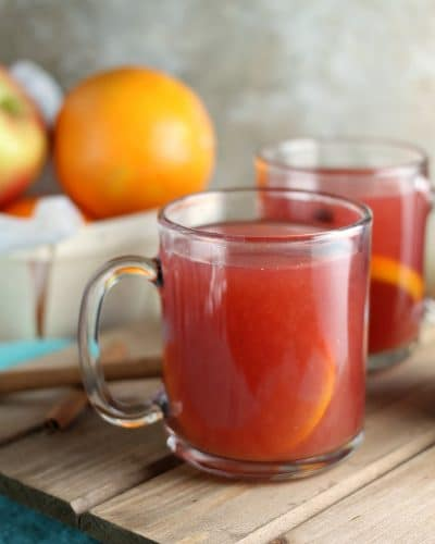 Cranberry Orange Cider
