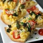 Macaroni and Cheese Flatbread