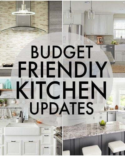 Budget Friendly Kitchen Updates