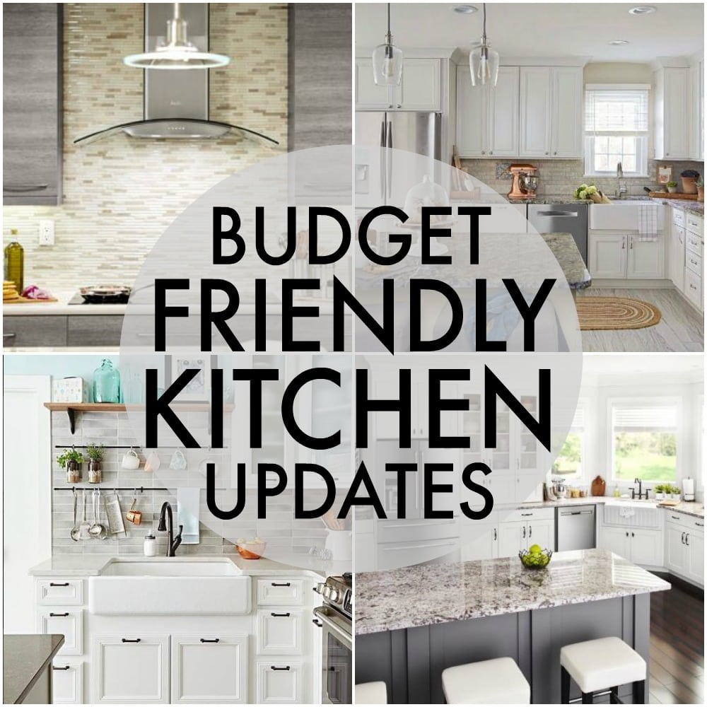 Budget friendly kitchen updates persnickety plates for Update my kitchen on a budget
