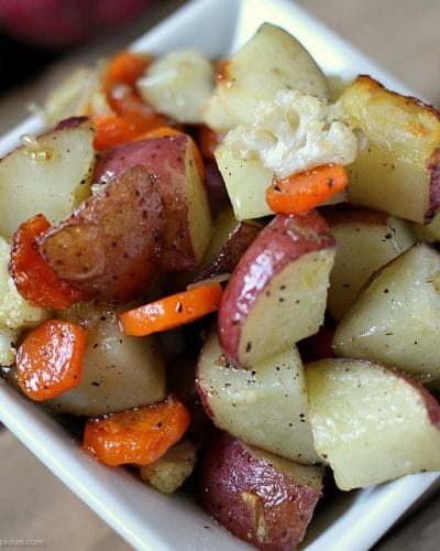 Garlic Roasted Veggies & instant meal solutions