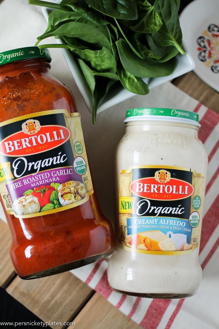 Bertolli jarred pasta sauces