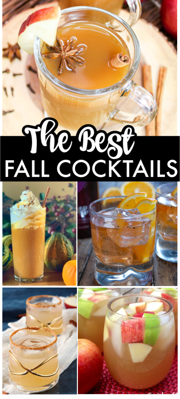 Sweaters and boots are out and it's time to switch over your summer drinks for some fall cocktails! | www.persnicketyplates.com #cocktails #fall #easyrecipes #cocktailrecipes #drinks