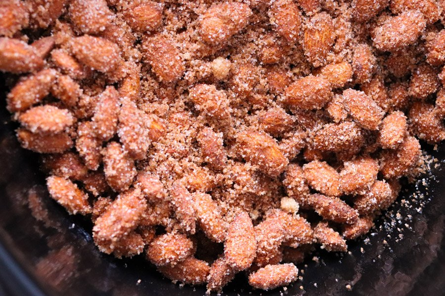 sugared almonds in crock pot