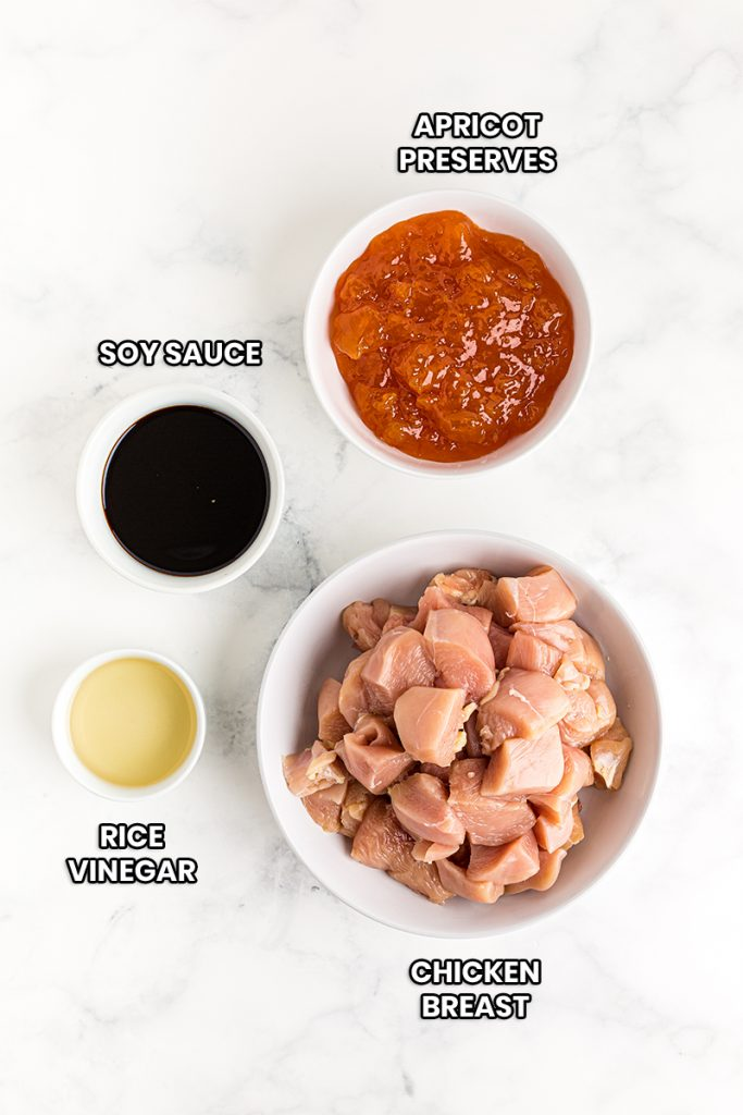 ingredients needed for slow cooker sweet and sour chicken