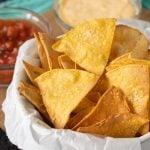 basket of tortilla chips